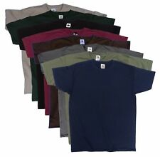 8 pack Fruit of the Loom men's Coloured t shirts, Great Value Multi-pack