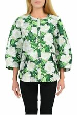 "Moncler ""Anastasie Giubbotto"" Gamme Rouge Multi-Color Floral Basic Jacket Sz 1 2"