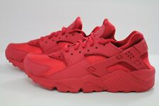 WOMEN'S NIKE AIR HUARACHE RUN GYM RED- SAIL-BLACK 634835-601
