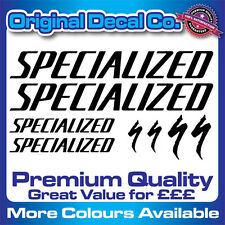 Premium Quality Specialized Bike Decals Stickers mountain bike road frame mtb