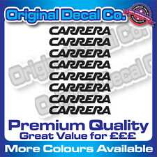 Premium Quality Carrera Bike Helmet Decals Stickers mountain bike road frame mtb