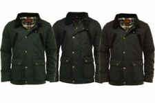 NEW Men's GAME OXFORD Quilted Wax Jacket British Made 100% Waxed Cotton Winter