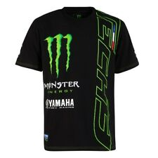 T-Shirt Yamaha Tech 3 Factory Racing Monster MotoGP Custom Print Bike IE d139cca235ab
