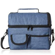 Insulated Lunch Bag Meal Prep Thermal Bento Box Tote Travel