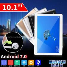 64GB 4G Android 7.0 Tablet PC Phone Pad Camera Core 8 HD WIFI Bluetooth 2 SIM