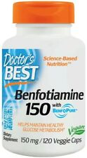 Doctor's Best  Benfotiamine with BenfoPure, 150mg   Free P&P