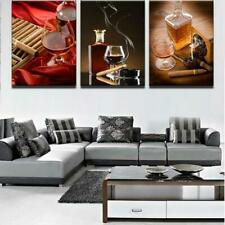 SCOTCH AND CIGAR Canvas Art Print for Wall Decor Wine and Whiskey Scotch Art