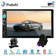 """Touch Screen Car 7"""" Double 2 Din MP5 MP3 Player Bluetooth Stereo FM Radio+Camera"""