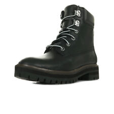 Chaussures Boots Timberland femme 6 inch London Square Bo Jet taille Noir Noire