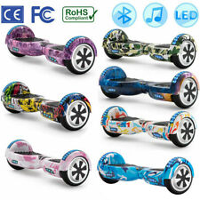 """ELECTRIC SCOOTERS 6.5"""" BALANCE BOARD SELF BALANCING SCOOTER+BLUETOOTH+KEY+BAG"""