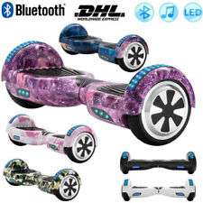 """Electric Scooters 6.5"""" Hoverboard Bluetooth Self Balance Board LED+Remoter+Bag"""