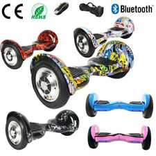 """HOVERBOARD 10"""" SELF BALANCING ELECTRIC SCOOTERS BALANCE BOARD BLUETOOTH+BAG+KEY"""