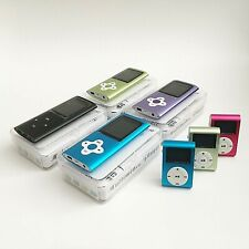 MP3/MP4 Player Ultra Slim Music Player With FM Radio Voice Recorder Support 64GB