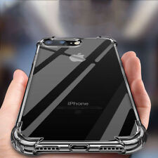iPhone eX XR XS MAX Case Shock Proof Crystal Clear Soft Bumper Slim Cover