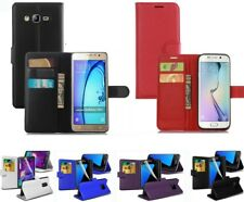 Flip Leather Wallet Card Holder Case Cover For Samsung Galaxy S8 S9 S7 S6 Edge