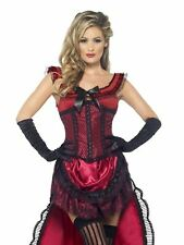 Womens SexPurple Burlesque Showgirl Can Can Dancer Costume DRESS AND CORSET ONLY