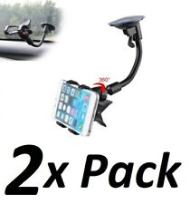 360° Car Windshield Mount Cradle Holder Bracket For Mobile Cell Phone GPS iPhone