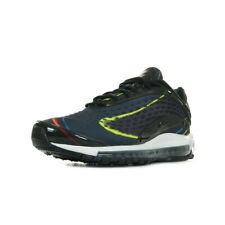 Chaussures Baskets Nike homme Air Max Deluxe taille Noir Noire Synthétique