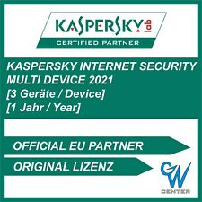 Kaspersky internet security 2019 / 2020 [3 PC , GERÄTE 1 JAHR Multi Device