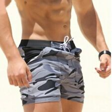 Sexy Men's Swimsuits Man Camouflage Swim Trunks Beach Shorts Boxer Water Sports