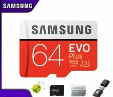 SAMSUNG EVO Plus Micro SDXC Class10 U3  256G 128GB 64GB 32GB LOT +Card adapter