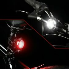 Details about  USB Rechargeable Cycling Bicycle Bike 3 LED Head Front Rear Tail
