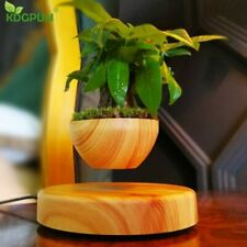 GIFT Magnetic Levitation Potted Plant Floating Air Bonsai Tree Pot Garden Flower