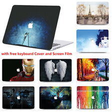 """Laptop Hard Shell Cover Case for Apple Macbook Pro 11""""12""""13""""15 inch 2012-2019 CF"""