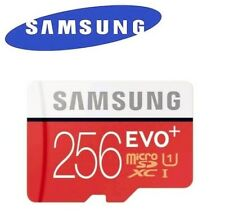 New Samsung EVO+ Plus 64, 128, 256GB Micro SD Card UHS-1 SDXC TF Class 10, U3