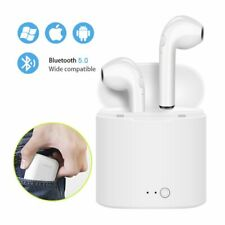 Wireless Bluetooth Earphone Stereo Headset i7s With Charging for all smartphone