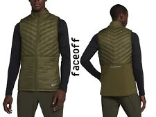 Nike AeroLayer Men's Running Vest Olive AH0546-395