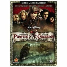 Pirates of the Caribbean: At Worlds End (DVD, 2007, 2-Disc LIMITED EDITION)