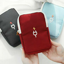 Waterproof Electronic Accessories Storage Organizer Travel Charger USB Cable Bag