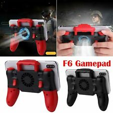 F6 Gamepad Heat Dissipation Cooling Fan Gamepad Joystick Built-in 800mAh for IOS