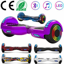"""Hoverboard 6.5"""" Electric Scooters Bluetooth LED Self Balance Scooter 2 Wheel+Bag"""