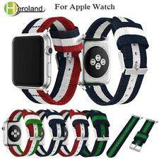 Sports Woven Nylon Strap For Apple Watch band series 1/2/3 /4 42mm 38mm bracelet