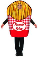 Adult French Fries Costume - Tunic