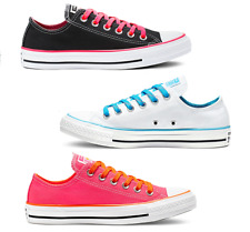 Converse Chuck Taylor All Star Colour Game Low Top Canvas Trainers