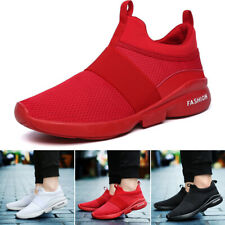 Mens Spring Breathable Mesh Athletic Sneakers Traveling Running Sport Shoes Hot