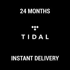 TIDAL PREMIUM SUBSCRIPTION / 24 MONTHS / INSTANT DELIVERY / WORLDWIDE