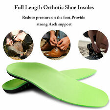 Orthotic Insoles Flat Fasciitis Foot Arch Heel Support Plantar Feet Inserts Pads