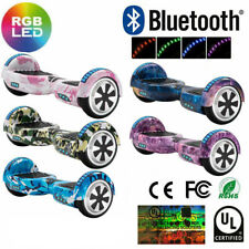 Hoverboard 6.5 Inch Electric Scooters Bluetooth Smart Balance Board LED+Key+Bag