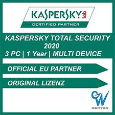 Kaspersky Total Security 2019 / 2020 Multi Device [3 PC | 1 Year] Download