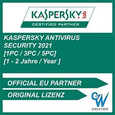 Kaspersky Antivirus 2019 / 2020 [1PC, 3PC, 5PC  | 1 YEAR / 2 YEAR ] DOWNLOAD
