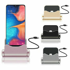 360 degree MICRO USB dock charger station desktop charging stand for Samsung A10