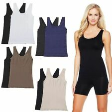 Yummie Tummie  Seamless Shaping Tank w/ Reversible Neckline Choose Color Size