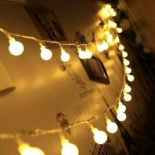Ball Led String Light Lamp String Waterproof Outdoor Decoration Christmas 100LED