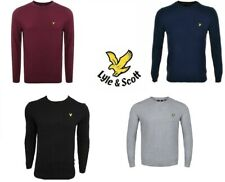 LYLE & SCOTT LONG SLEEVE CREW-NECK MEN'S JUMPER NEW WITH TAG