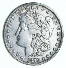 Early 1879 Morgan Silver Dollar - 90% US Coin *071