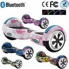 6.5 Hoverboard Electric Scooters Bluetooth Self Balance Board LED Wheels Lights